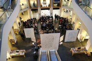 Marronage: Modlæsninger, Modernitetens mørke sider, Hovedbiblioteket, marta 2017. Foto: Kbh læser.