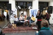 Marronage: Modlæsninger, VisAvis, Hovedbiblioteket, marts 2017. Foto: Lotte Løvholm.