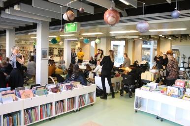 Marronage: Modlæsninger, Killjoy, Hovedbiblioteket, marts 2017. Foto: Lotte Løvholm.